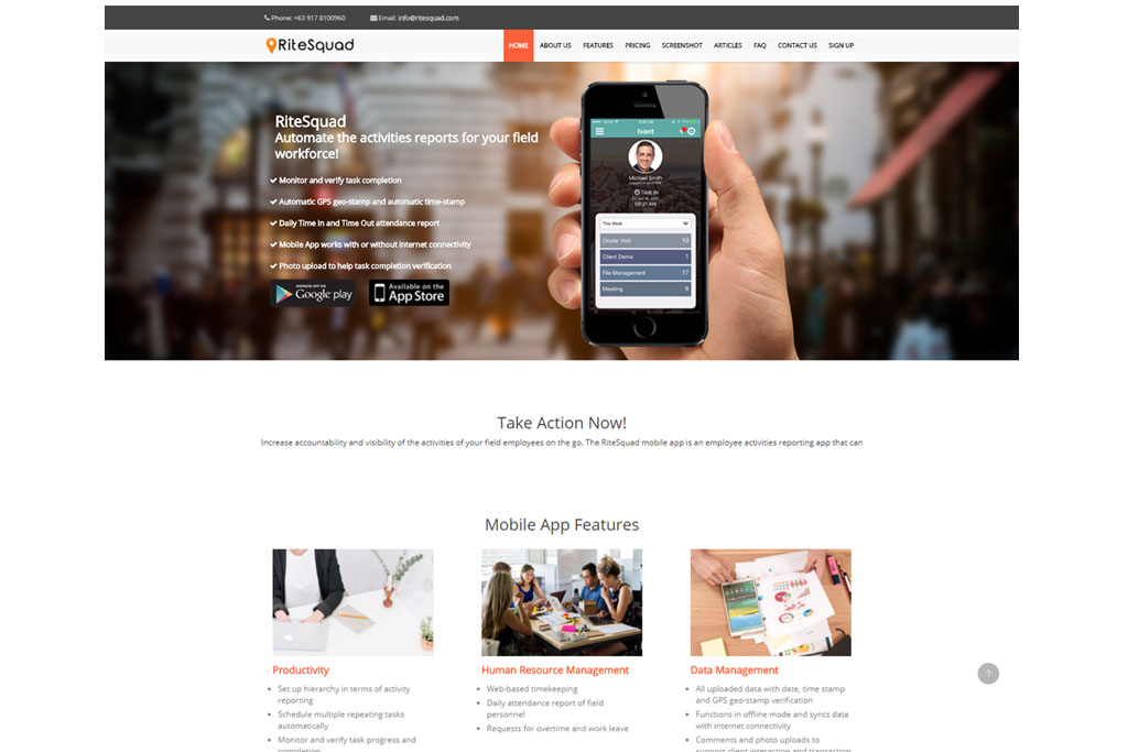 webtogo website design package for your business